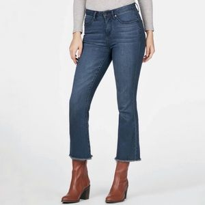JustFab High Waisted kick flare denim jeans